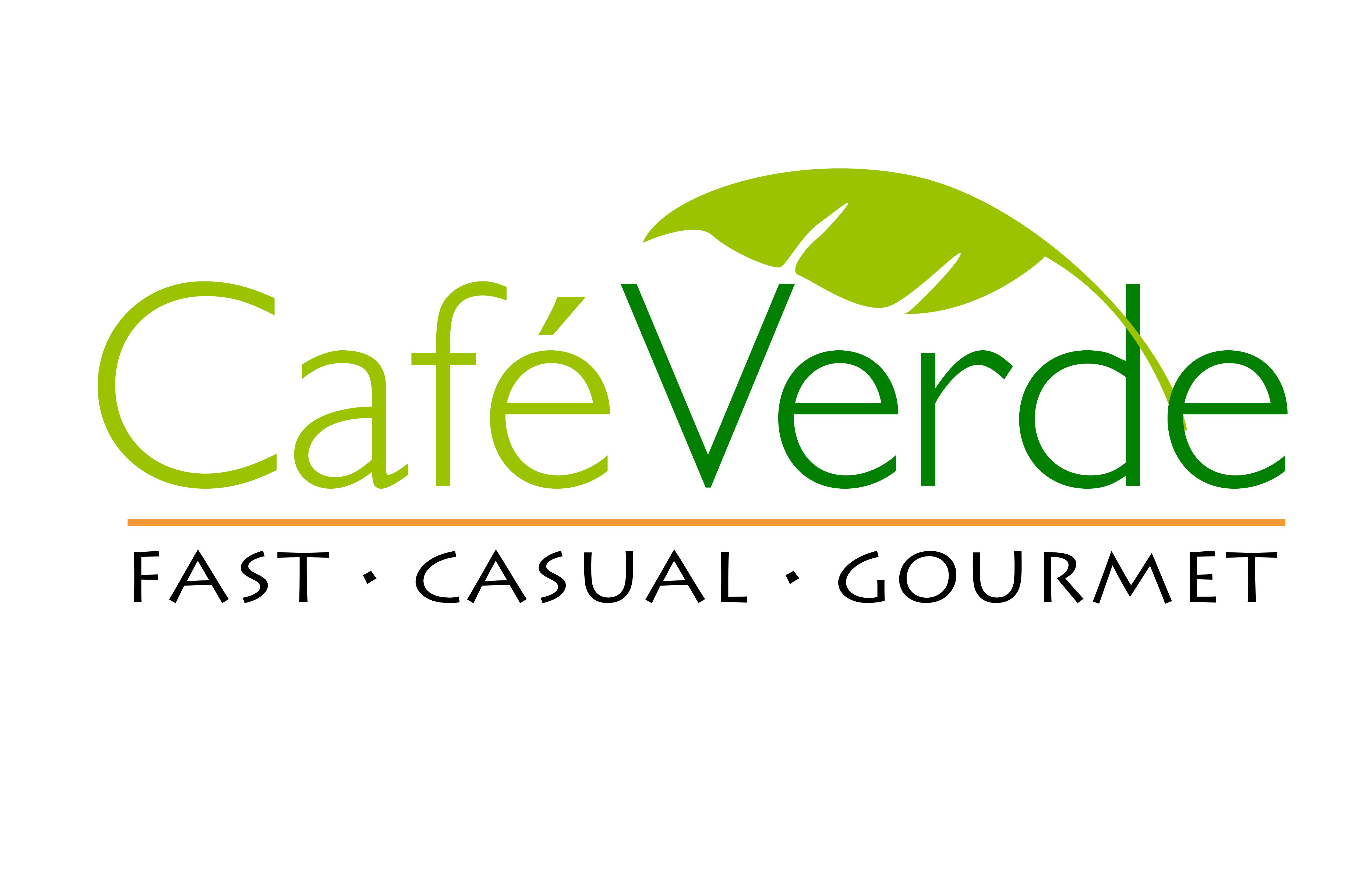 cafe verde logo for print